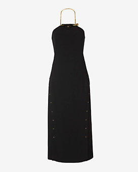 Derek Lam 10 Crosby Sleeveless Necklace Dress