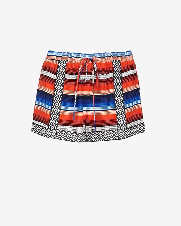 sale  parker-applique-printed-drawstring-shorts by parker