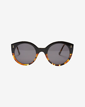 Illesteva Palm Beach Half Tortoise Sunglasses