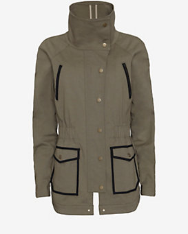 Veronica Beard Military Jacket: Olive