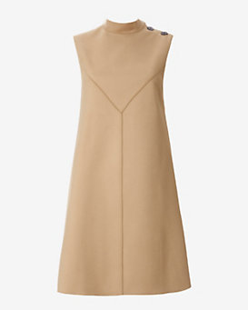 Derek Lam Flare Dress: Camel
