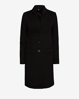 Neil Barrett Single Breasted Peacoat