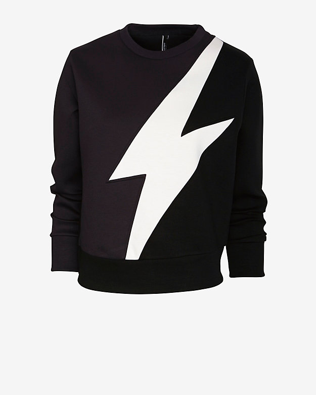 Neil Barrett Lightning Bolt Sweatshirt