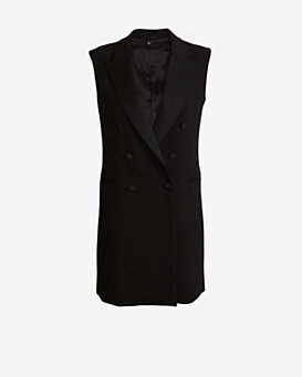 Neil Barrett Tuxedo Dress