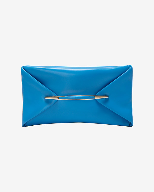 Nina Ricci Bar Envelope Clutch: Blue