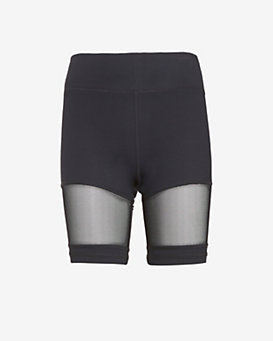 Michi Sheer Panel Shorts