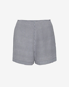 Equipment Lewis Gingham Print Shorts