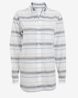 Equipment Margaux Horizontal Stripe Pattern Button Down