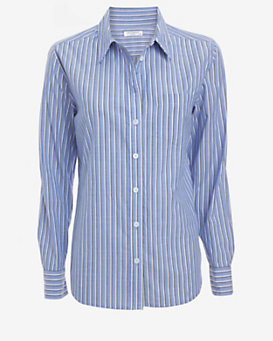 Equipment EXCLUSIVE Brett Striped Pattern Button Down