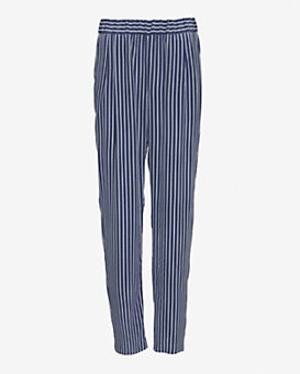 Equipment EXCLUSIVE Hadley Silk Striped Pant