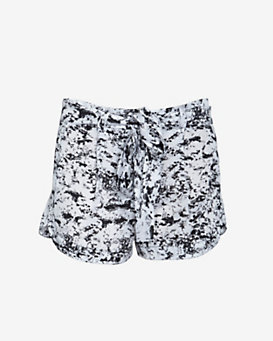 Robert Rodriguez EXCLUSIVE Tie Waist Graphic Print Shorts