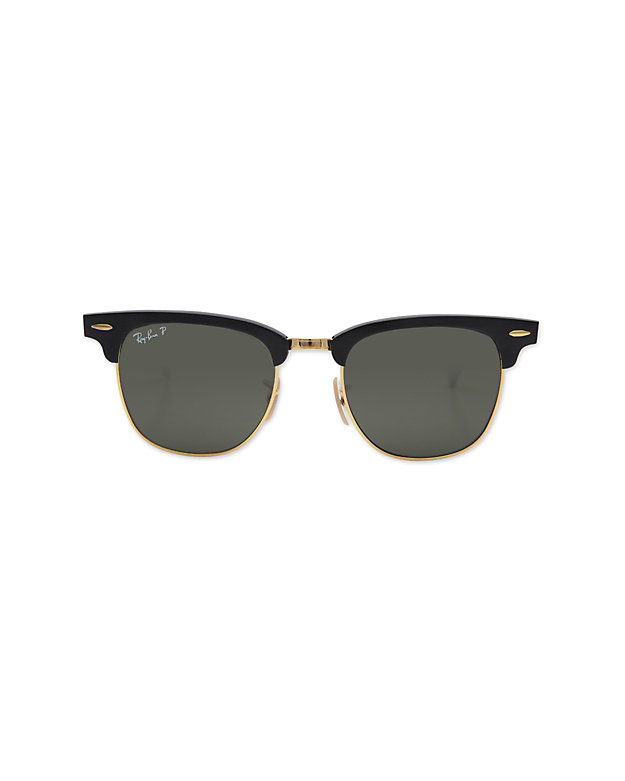 Ray-Ban Clubmaster Sunglasses: Black