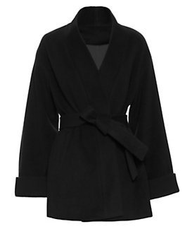 Exclusive for Intermix Belted Wrap Coat