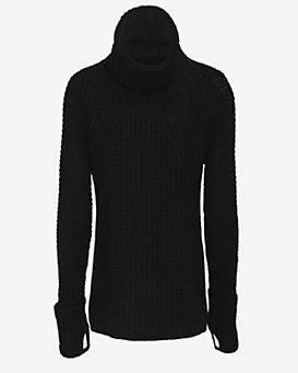 Exclusive for Intermix Thumbhole Insert Cuff Turtleneck