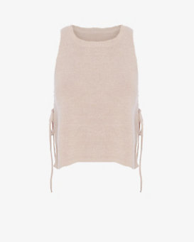 Exclusive for Intermix Skye Side Tie Knit Tank