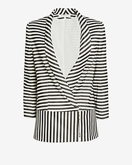 Veronica Beard Striped Jacket