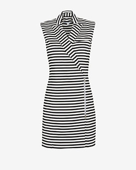 Veronica Beard Striped Blazer Dress