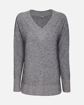 Exclusive for Intermix Boyfriend V Neck Sweater
