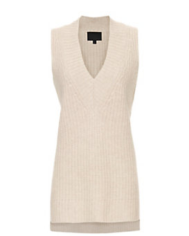 Exclusive for Intermix Heidi V-Neck Tank Sweater