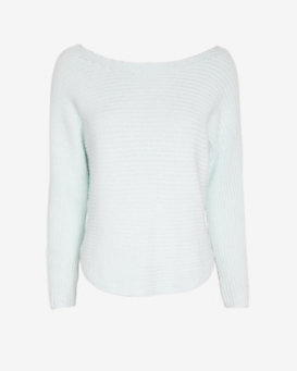 Exclusive for Intermix Off The Shoulder Sweater