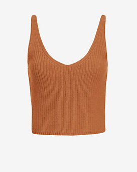 Exclusive for Intermix Crop Knit Cami
