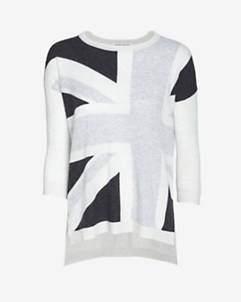 Autumn Cashmere Union Jack Sweater