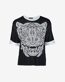 RVN EXCLUSIVE Tiger Jacquard Pullover