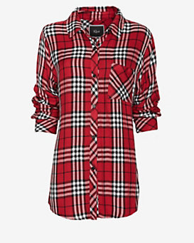 Rails Plaid Shirt: Red