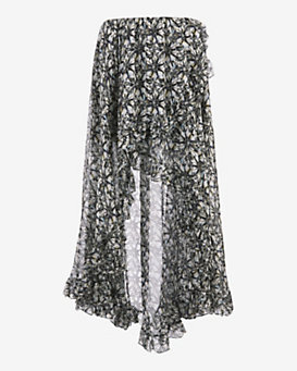 Caroline Constas EXCLUSIVE Adelle Printed Convertible Skirt/Top