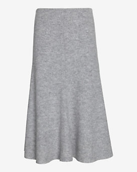 Nicholas EXCLUSIVE Felted Wool Flared Skirt