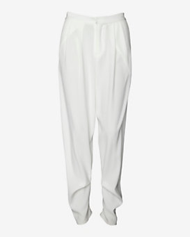 10 Crosby Derek Lam Pleated Trouser: White