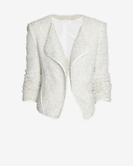 10 Crosby Derek Lam Angled Lapel Tweed Jacket