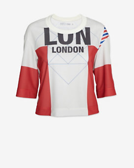 Surreal But Nice London Graphic Crop Jersey