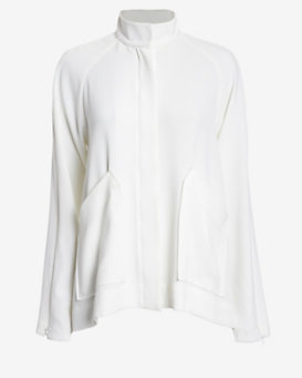 Derek Lam 10 Crosby EXCLUSIVE Arm Zip Cape