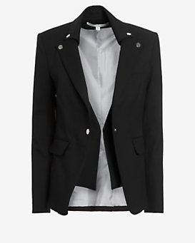 Veronica Beard Collar Dickey Blazer