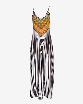 Camilla EXCLUSIVE Animalia Print Maxi Dress