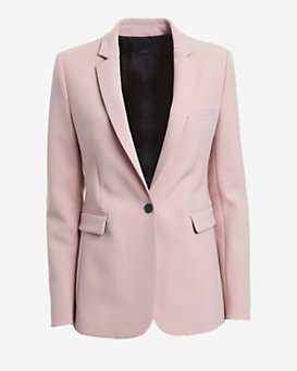 Joseph One Button Suit Blazer