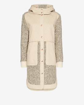 See By Chloe Tweedy Hooded Anorak