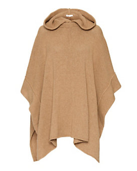 See By Chloe Side Tie Knit Poncho