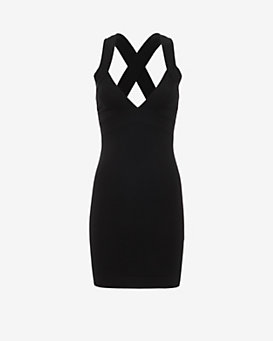 DSQUARED2 Criss Cross Strap Dress