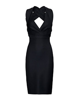 DSQUARED2 Criss Cross Back Strap Dress