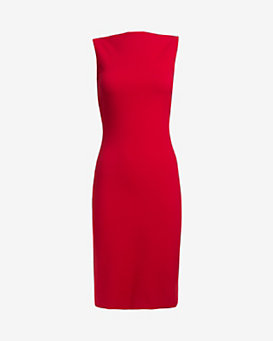 DSQUARED2 Strappy Back Pencil Fit Dress
