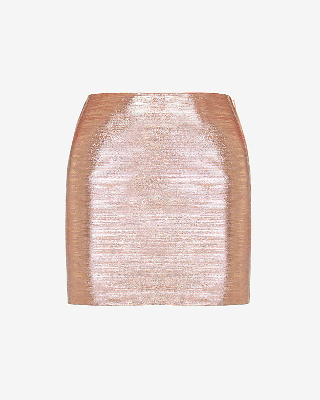 DSQUARED2 Metallic Lurex Mini Skirt