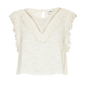 Suboo Cast Away Fringe Crop Top