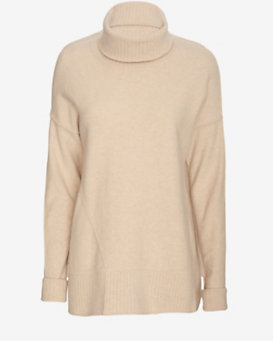 Brochu Walker Felted Turtleneck Sweater