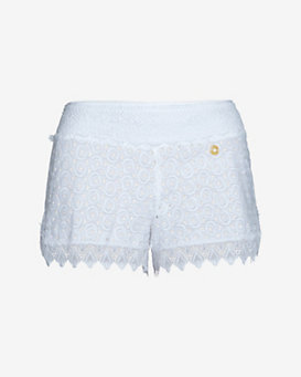 Ondademar EXCLUSIVE Crochet Cotton Shorts