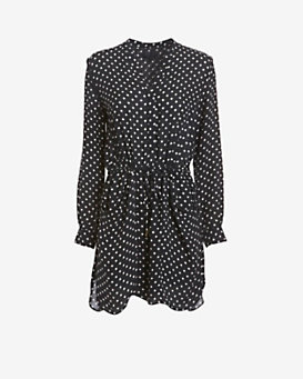 Exclusive for Intermix Brooklyn Polka Dot Print Dress