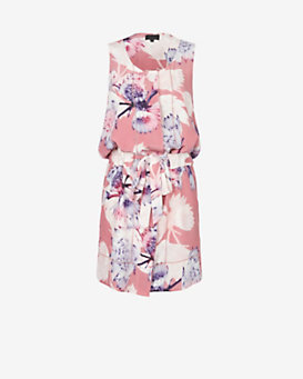 Exclusive for Intermix Kendall Floral Waist Tie Dress