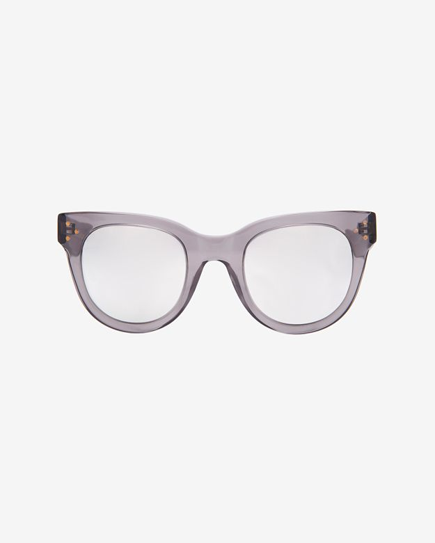 Spektre sunglasses Mirrored Lense Sunglasses: Grey/Silver