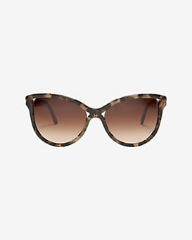 Stella McCartney Havana Gradient Lense Sunglasses